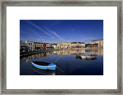 Fishing Boats In Wexford Harbour Framed Print by Chris Hill