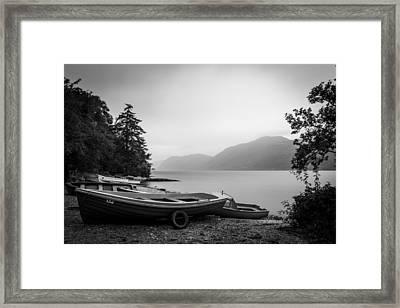 Fishery Framed Print