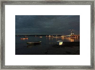 Fishing Boats Framed Print by Randi Shenkman