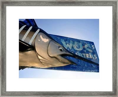Fishing Charter Framed Print by David Lee Thompson