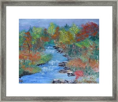 Fishing Creek Framed Print
