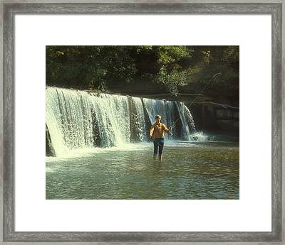 Fishing For Smallies Framed Print