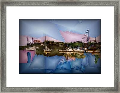 Fishing In Carolina Framed Print