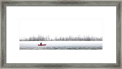 Fishing Limekiln Framed Print by David Patterson
