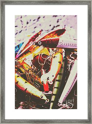 Fishing Lures Framed Print by Jorgo Photography - Wall Art Gallery