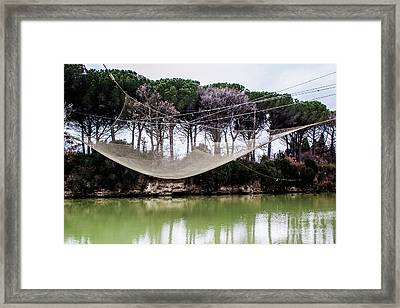 Fishing Net Framed Print