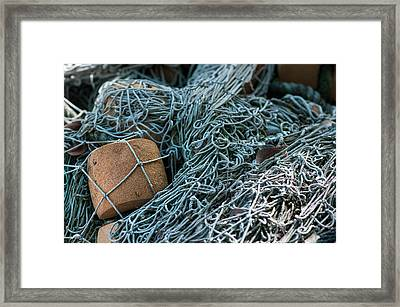 Fishing Nets Framed Print