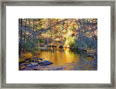 Fishing On The Cullasaja By H H Photography Of Florida Framed Print