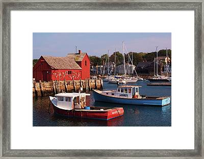 Framed Print featuring the photograph Fishing Shack by John Scates