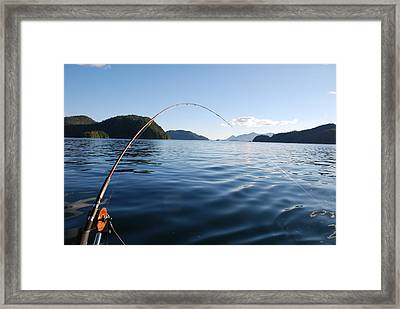 Fishing Tlupana Inlet Framed Print