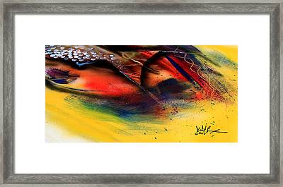 Fishtail Abstract Framed Print
