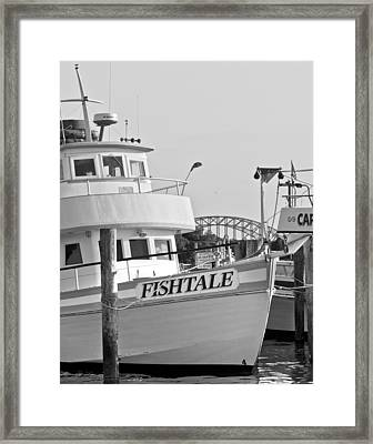 Fishtale Framed Print by Alida Thorpe