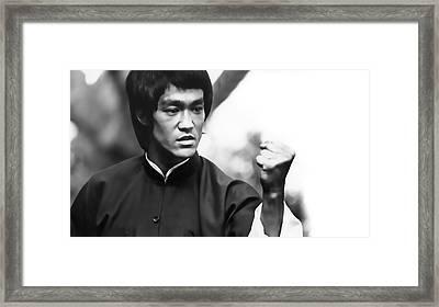 Fist Of Fury Framed Print by Daniel Hagerman