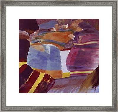 Fisticuffs Framed Print by Ken Yackel