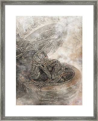 Fit Into The System Framed Print