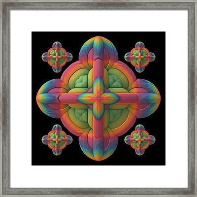 Framed Print featuring the digital art Fit To A Tee by Lyle Hatch