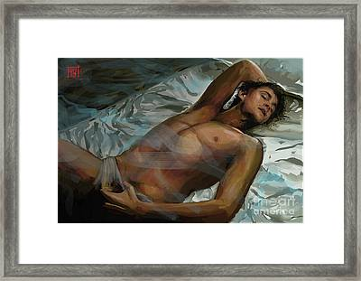 Fitful Sleep Framed Print by Dori Hartley