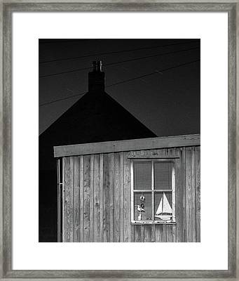Fittie By Night Framed Print