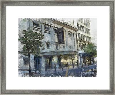 Fitzgerald Framed Print by Paulette B Wright