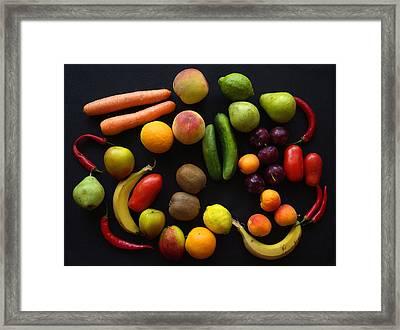 Five A Day Framed Print by Donald Buchanan