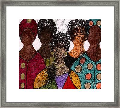 Five Alive Framed Print