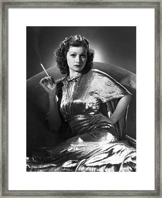 Five Came Back, Lucille Ball, 1939 Framed Print by Everett