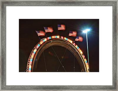 Five Flags Framed Print by James BO  Insogna