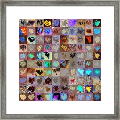 Five Hundred Series Framed Print by Boy Sees Hearts