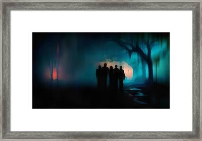 Five Framed Print by Jenny Rainbow