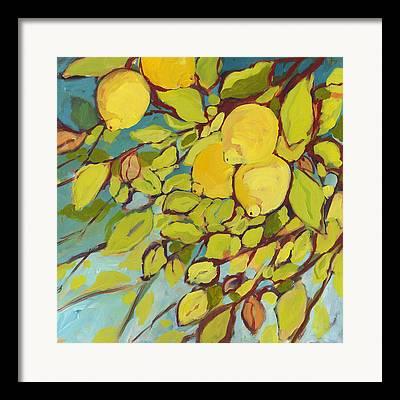 Lemons Framed Prints