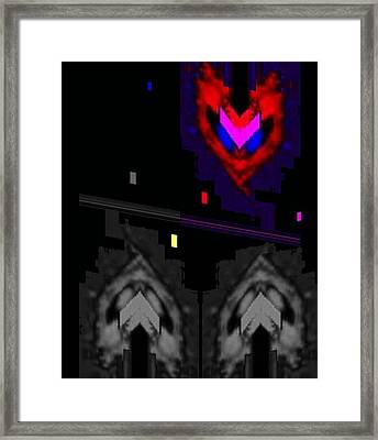 Five Minutes To Midnight Framed Print