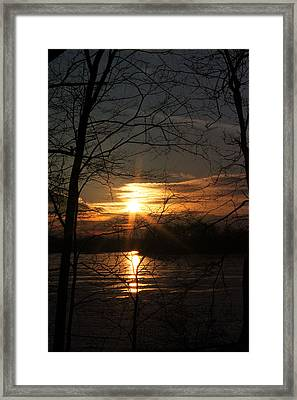 Five O Framed Print by Mark  France