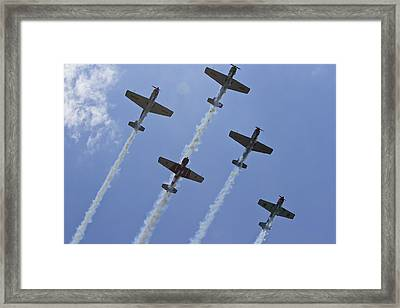 Framed Print featuring the photograph Five Out Of Six by Miroslava Jurcik