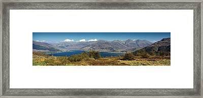 Five Sisters Of Kintail Framed Print by Donald Buchanan