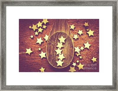 Five Stars Quality Food Service  Framed Print