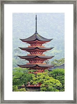 Five-storied Pagoda Framed Print