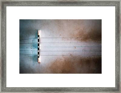 Five String Banjo Framed Print by Scott Norris