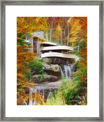 Fixer Upper - Frank Lloyd Wright's Fallingwater Framed Print
