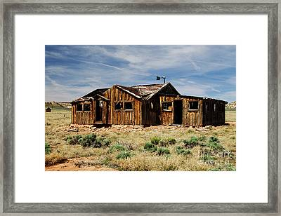 Fixer-upper Framed Print