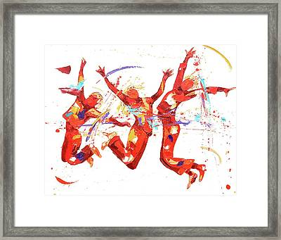 Fizz Framed Print by Penny Warden