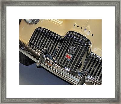 Fj Holden - Front End - Grill Framed Print by Kaye Menner