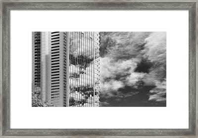 Fla-150531-nd800e-25123-bw Framed Print by Fernando Lopez Arbarello