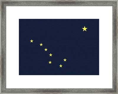 Flag Of Alaska Wall Framed Print