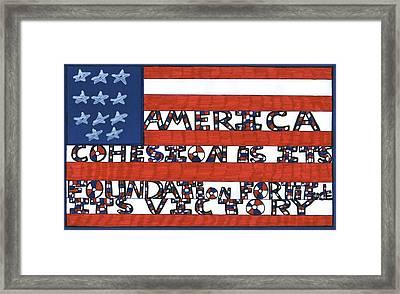 Flag Two Framed Print