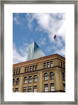 Flagg Building John Hancock Framed Print