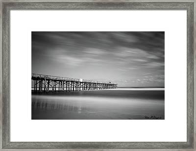 Flagler Beach Pier Framed Print