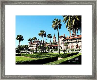 Flagler College Framed Print by Addison Fitzgerald