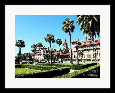 Historic Site Mixed Media Framed Prints