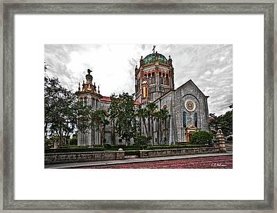 Flagler Memorial Presbyterian Church 2 Framed Print by Christopher Holmes