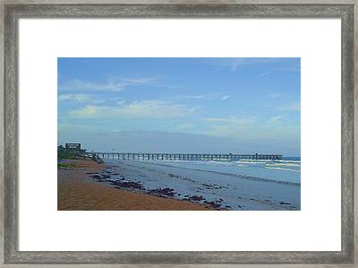 Flagler Morning Framed Print